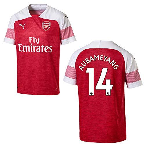 PUMA FC Arsenal Trikot Home Herren 2019 - AUBAMEYANG 14, Größe:XXL