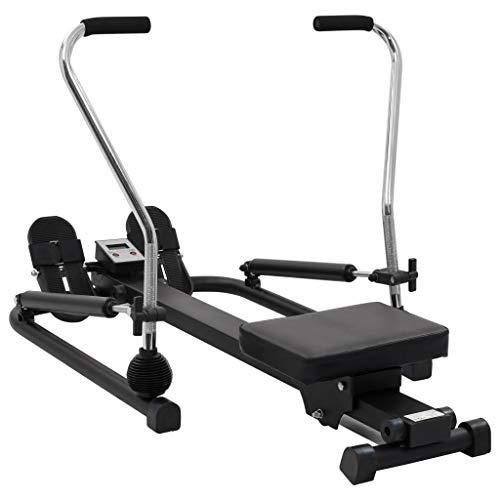 Vogatore sportivo, vogatore per il fitness, per la casa, per il vogatore aerobico, per il fitness, per interni ed esterni, resistenza idraulica a 5 livelli