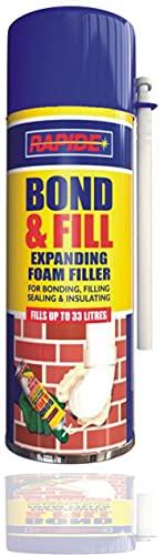 500 ml Spaltschaum-Füller, Polyurethan, Dämmung, Bonding-Füllung