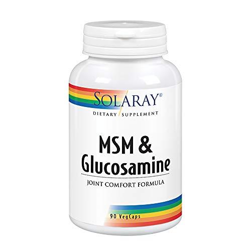 Solaray MSM + Glucosamine | 90 VegCaps