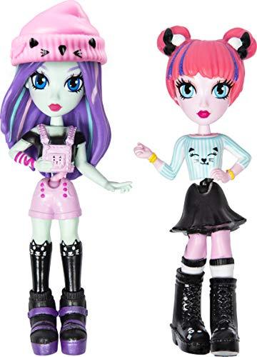 Off The Hook Style BFFs, 10,2 cm kleine Puppen mit Mix and Match Mode und Zubehör, für Mädchen ab 5 Jahren (Stile variieren)