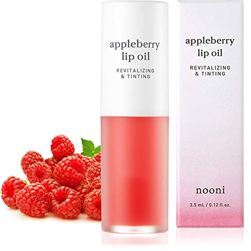 NOONI Appleberry Lip Oil | Korean Lip Oil To...