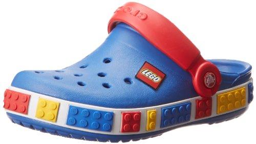 Crocs Crocband Lego K, Zoccoli e sabot, bambino, Blu (SBRD), 19-21