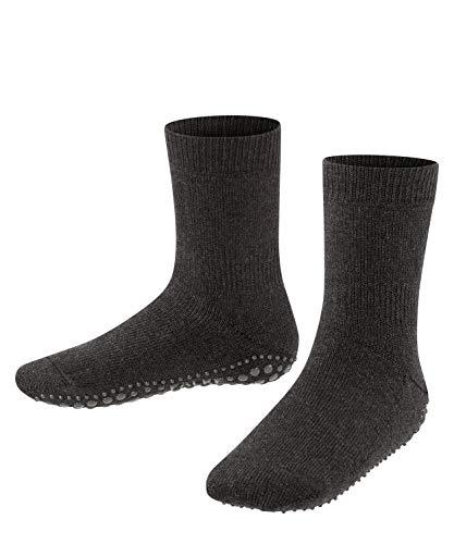 FALKE FALKE unisex-Kinder Socken, Catspads K CP-10500, Grau (Asphalt Melange 3180), 31-34