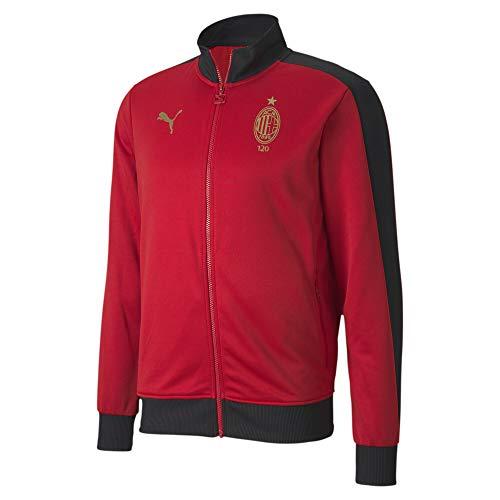 PUMA AC Milan 120th Anniversary T7 Herren Trainingsjacke Tango Red -Victory Gold L
