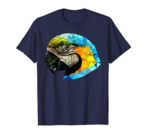 Papagei Ara Polygon - Geometrisch - Low Poly - Tier Geschenk T-Shirt