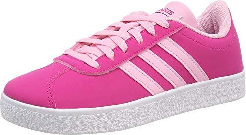Adidas VL Court 2.0 K, Zapatillas de Deporte Unisex Adulto, Multicolor (Magrea/Rosaut/Ftwbla...