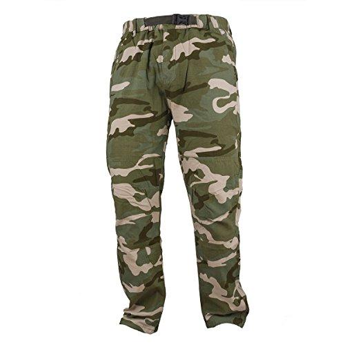 Urgent Top Neuheit! Armee Hose Camouflage Arbeitskleidung Arbeitshose URG-G Militärhosen (52 EU, URG-CAMO)