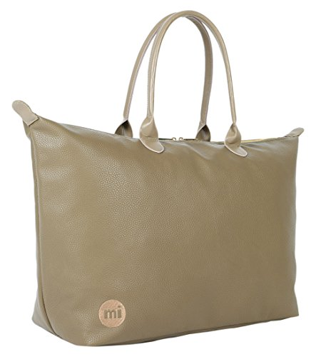 Mi-Pac Tumbled Weekender Bag Hand Luggage, 55 cm, 35 L - Khaki