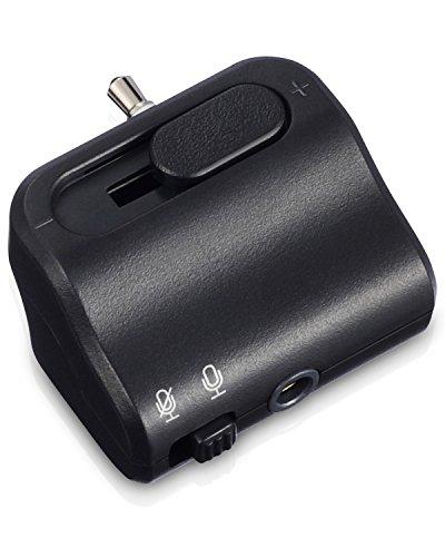 Fosmon PS4 Controller Adapter für Kopfhörer/Headset mit Lautstärkenregler & Stummschalter [DualShock Audio-Controller](3,5mm Ausgang) für Playstation 4 Joystick/Kontroller