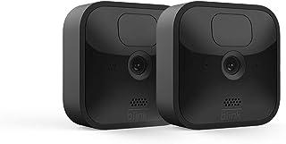 Nuova Blink Outdoor, Videocamera di sicurezza in HD, senza fili, resistente alle intemperie, batteria autonomia 2 anni, ri...