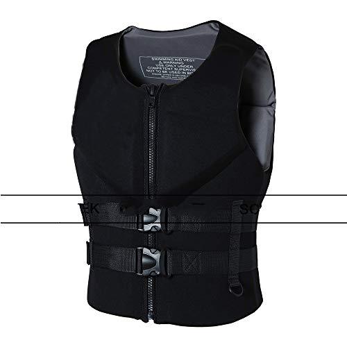 Buy Discount LYUPENG Black Neoprene Life Jacket Vest 150 N Kayaking Swimming Manufacturers