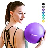 Trideer Pilates Ball, Barre Ball, Mini Exercise Ball, 9 Inch Small Bender Ball, Pilates, Yoga, Core Training and...