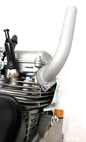 Low Profile Exhaust, Predator 212cc, GX160 & GX200. Go Kart & mini.