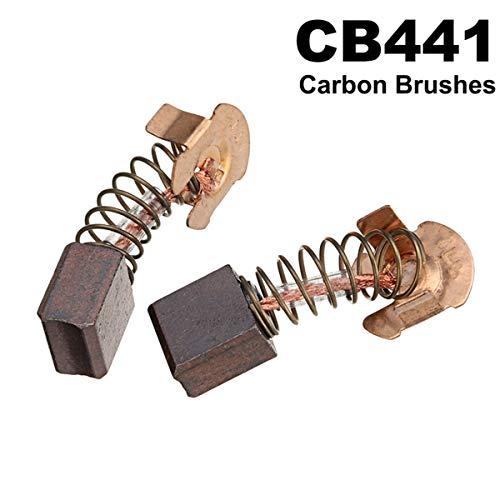 HELEISH 2ST Kohlebürste for MAKITA CB441 CB432 DTW450 DSS611 DSS610 BSS611 BSS610 Handwerkzeuge Kohlebürste NEU Zubehörwerkzeug