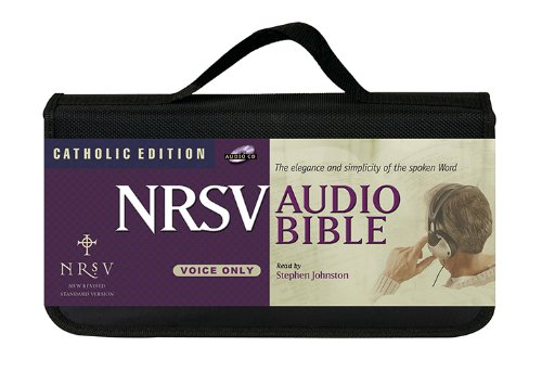 Voice Only Bible-NRSV-Catholic