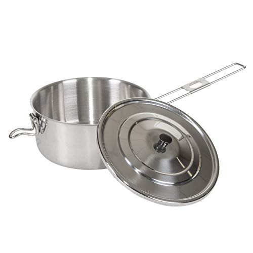 Stansport Solo Stainless Steel Cook Pot (1-Liter), One Size