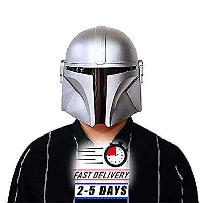 The Mandalorian Helmet SW Halloween Cosplay Costume Injection Molded Model PVC Mask from UUMI