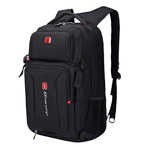 Soarpop 15 pollici Laptop Backpack, Zaino Grande Capacità Resistente All'acqua Multifunzionale Pratica Commerciale / Zaino Casuale