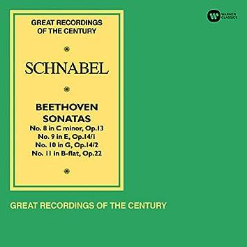 """Beethoven: Piano Sonatas Nos 8 """"Pathétique"""", 9, 10 & 11"""