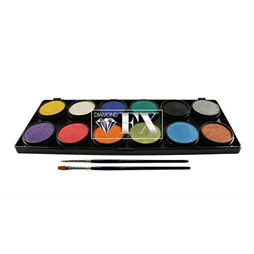Diamond FX 12 Color Palette - Metallics (x 10...