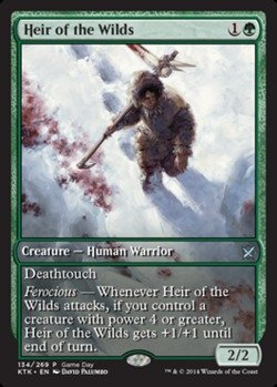 Magic The Gathering - Heir of The Wilds (134/269) - Unique & Misc. Promos - Foil