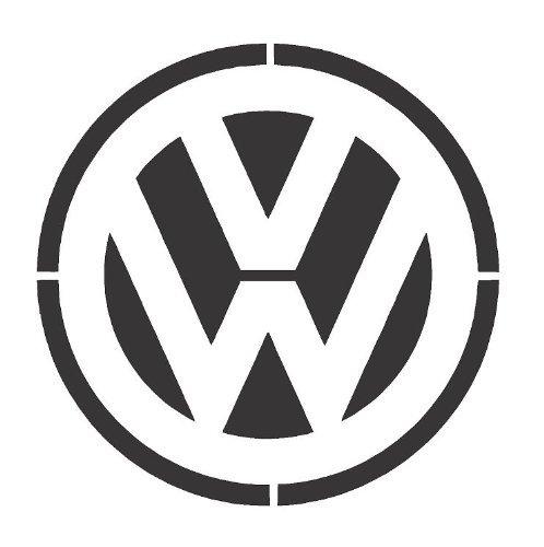 VW Logo Airbrush A4 Wall Art Paint Schablone Original Mylar wiederverwendbar 125 Mikron