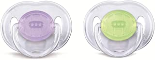 PHILIPS AVENT Soother Translucent, 0-6 Month, Colors May Vary