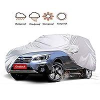 車カバー防水に対応のスバルアウトバック(Subaru Outback)カーカバーは SUV車ターポリンカバー通気性Sunproof防塵とポータブルストレージバッグ肥厚オックスフォード布 ップ四季対応 (Size : 2015)