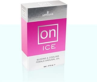 On Ice Buzzing and Cooling Female Arousal Oil - 5ml by Natural Oil