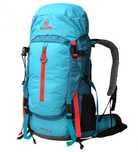 Limit Outdoor Sac à Dos d'alpinisme Sac à bandoulière 70L mâle et Femelle Grande capacité Loisirs Sac de Voyage Sports Sac de Voyage à Pied