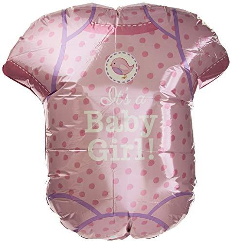 Amscan International 3091101 folie ballons/vorm: douche met liefde meisjes