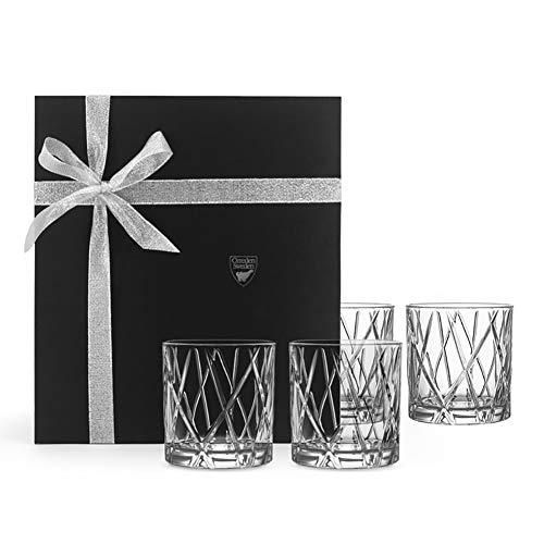 LKJJTG Whisky Glasses Geschenkset, High-End Kristallglas Transparente Trinkgläser, perfekte Idee als Geschenk, verpackt in eleganter Box