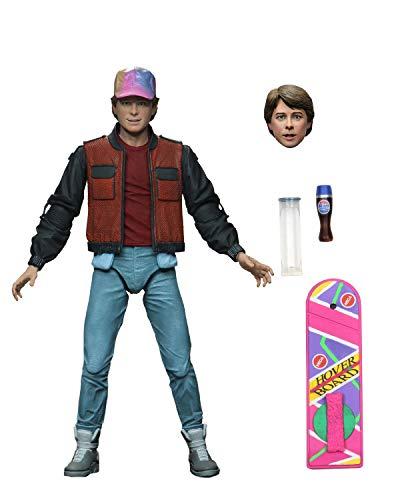 NECA - Figurine Retour vers Le Futur 2 - Ultimate Marty Mcfly 18cm - 0634482536100