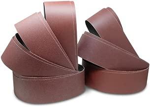 4 X 36 Inch Aluminum Oxide Sanding Belts - 60, 80, 100, 120, 150, 180, 220 Grits - 14 Pack Assortment