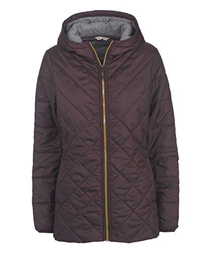 Woolrich Women's Wool Loft Insulated Long Jacket, Burgundy, Medium
