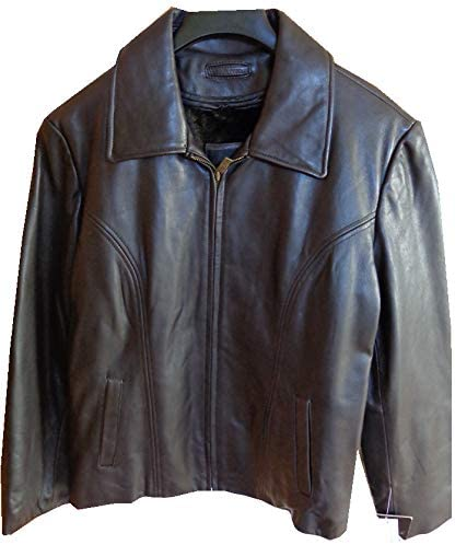 Tanners Ave Womens Lamb Skin Jacket Brown