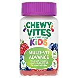 Chewy Vites Kids Multivitamin Advance 60 Gummy Vitamins   11 Essential Nutrients   1-a-Day   2 Months Supply   Real Fruit Juice   Vegan   3 Years+