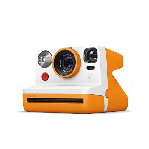 Polaroid インスタントカメラ Polaroid Now オレンジ i-Type/600フィルム使用 ビューファインダー搭載 9033 【国内正規品】 770180