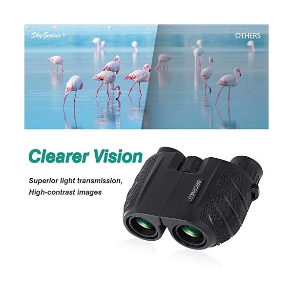 BRIGENIUS Binoculars for Birdwatching Adults Binoculars Night Vision Powerful Binoculars Compact