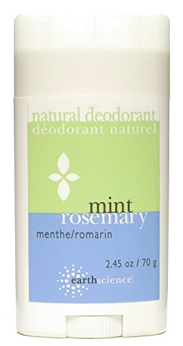 Earth Science Mint/Rosemary Deodorant, 2.5 Ounce - 6 per case.