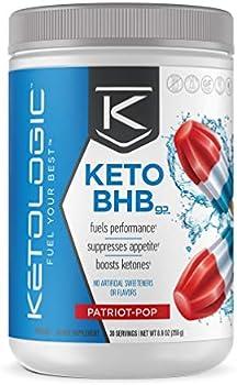 KetoLogic BHB Exogenous Amplify Ketosis to Utilize Fat Powder