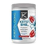 KetoLogic BHB Exogenous Ketones Powder Supplement: Patriot Pop (30 Servings) - Boosts Ketosis, Increases Energy & Focus - Supports Keto Diet with Beta-Hydroxybutyrate Keto BHB Salts