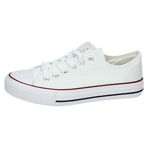 DEMAX 7-A1612A-12 Lonas Blancas Mujer Zapatillas Blanco 38