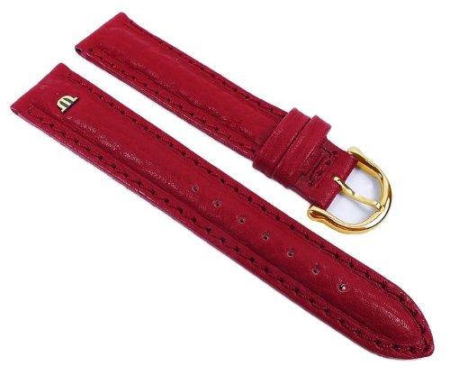 Maurice Lacroix ML-21939-18G - Correa para reloj, piel, color rojo