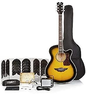 Keith Urban Acoustic Electric Guitar On Tour 40-pc Guitar Pkg Brazilian Burst (Right)