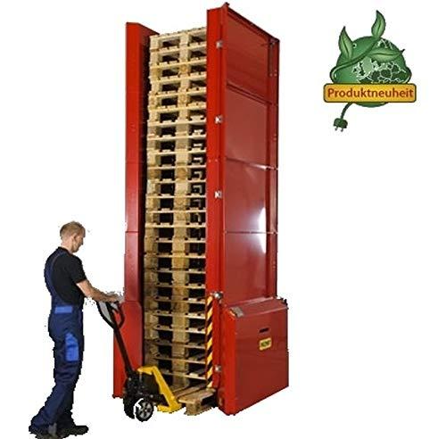 Greenline PALOMAT® per Strom = Plug + Play AUTOMAGAZIN für 25 Europaletten ** Verpackungseinheit: 1 Stück **
