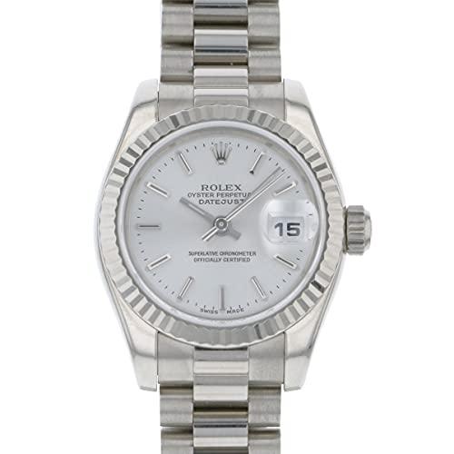 ロレックス ROLEX デイトジャスト 179179 シルバー文字盤 中古 腕時計 レディース (W152073) [並行輸入品]