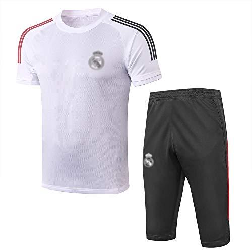 HM2 New Spring y Verano de Verano Fútbol de Fútbol Uniforme de Fútbol Club de Fútbol Transporte Fan Sports Jersey Traje.-A_Grande