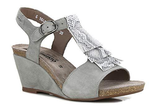 Mephisto Jenny - Sandalias color gris, Gris (gris), 39 EU
